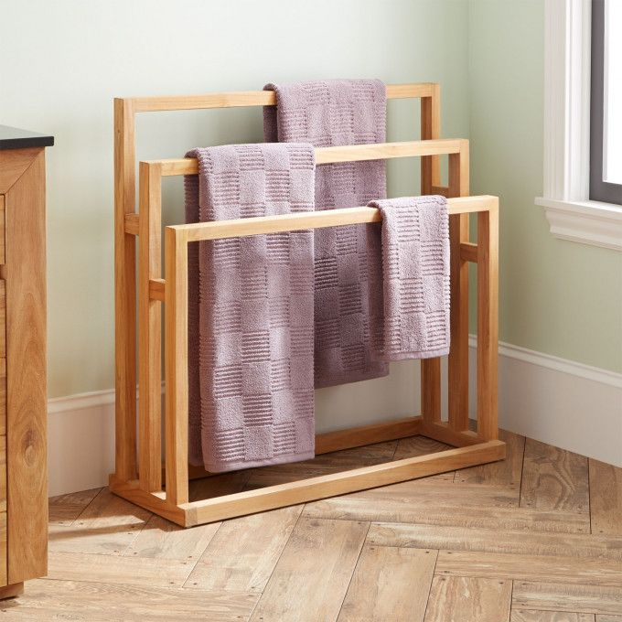 Bathroom Towel Stand
