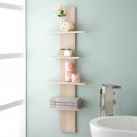 Wulan Hanging Bathroom Shelf - Four Shelves - Bathroom