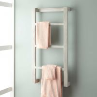 Wulan Teak Hanging Towel Rack - Bathroom
