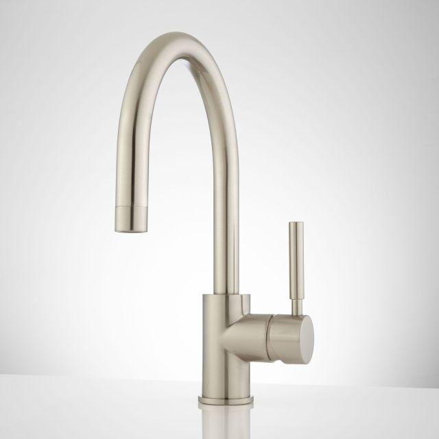 Casimir Single Hole Bathroom Faucet with Pop Up Drain Bathroom