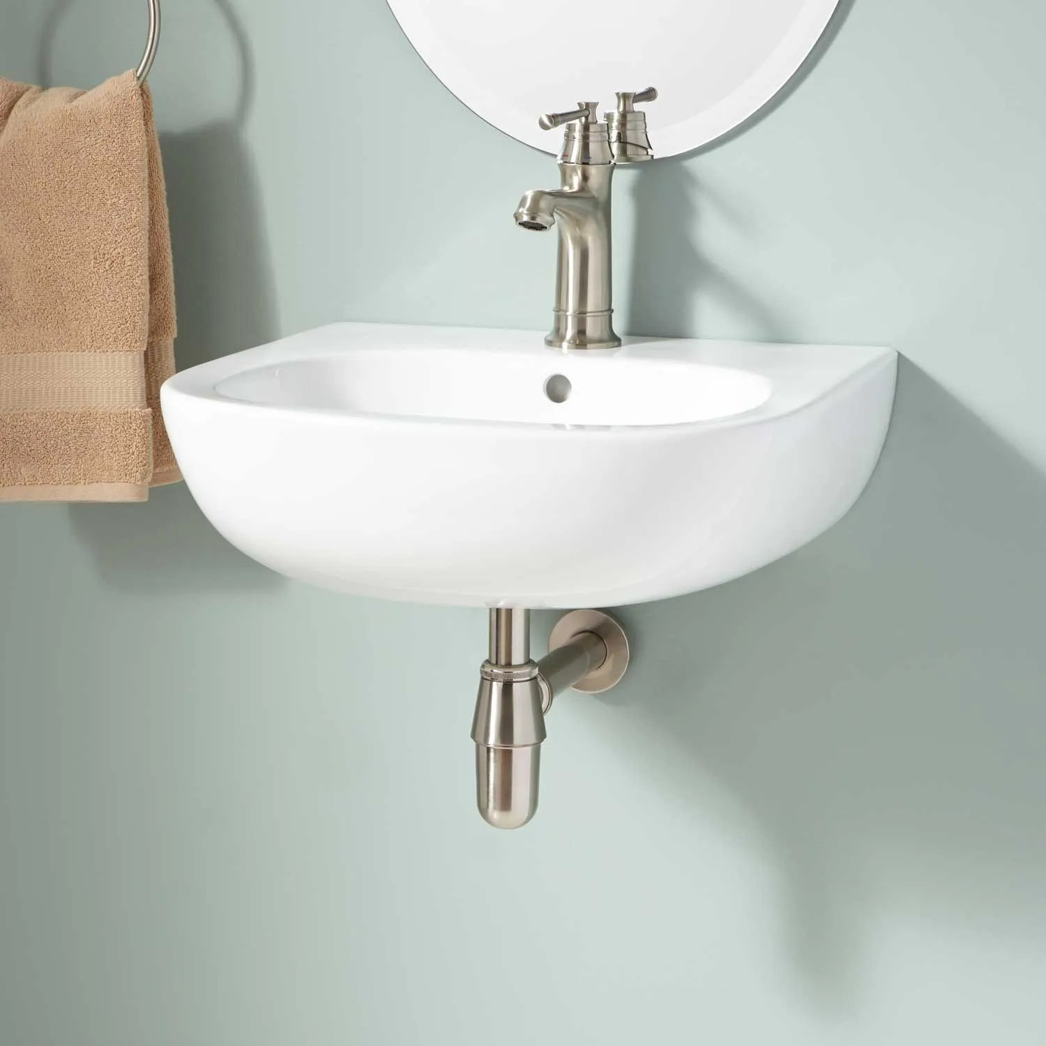 Langlade WallMount Bathroom Sink  Bathroom