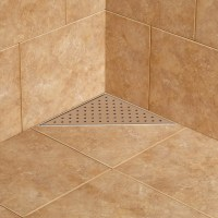 Werner Triangular Shower Drain - Bathroom