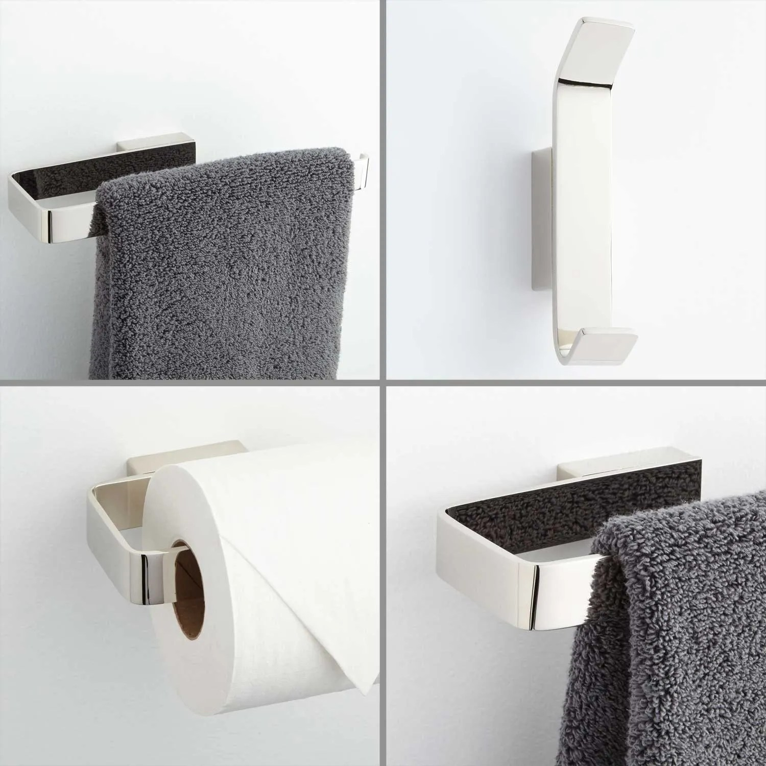 Newberry 4Piece Bathroom Accessory Set  Bathroom