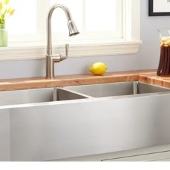 Oversized Kitchen Sinks Hardware On Cabinets Sink Buying Guide That Are Larger Than 36 In Length Considered These Fit Very Well Into Large Kitchens Where A Small Or Standard Size