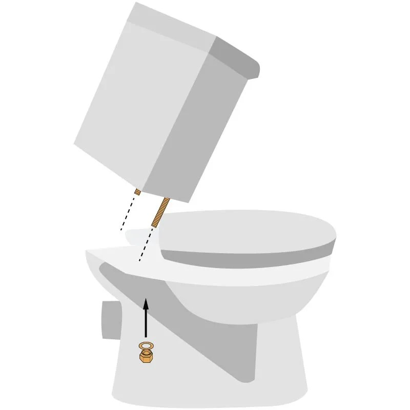 How To Install A Rear Outlet Toilet