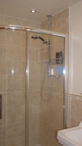 Aqualisa Shower and shower enclosure