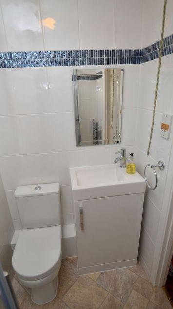 Shower Room Makeover - Rdigemount 2