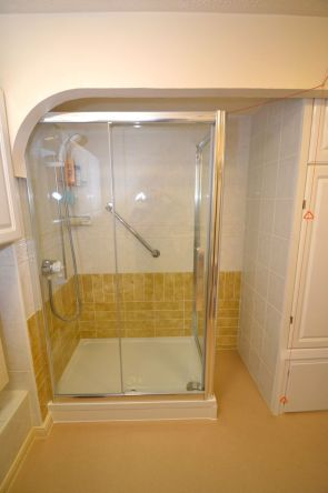 Shower Room Installation - Retirement Flat Gresham Court 3