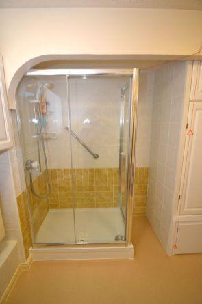 Shower Room Installation - Retirement Flat Gresham Court 3