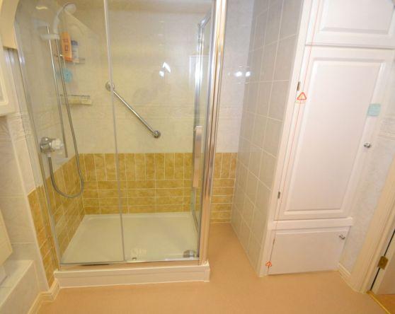 Shower Room Installation - Retirement Flat Gresham Court 2