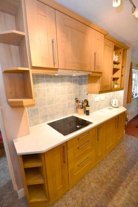 Kitchen Makeover - Chaldon Way Solid Oak 3