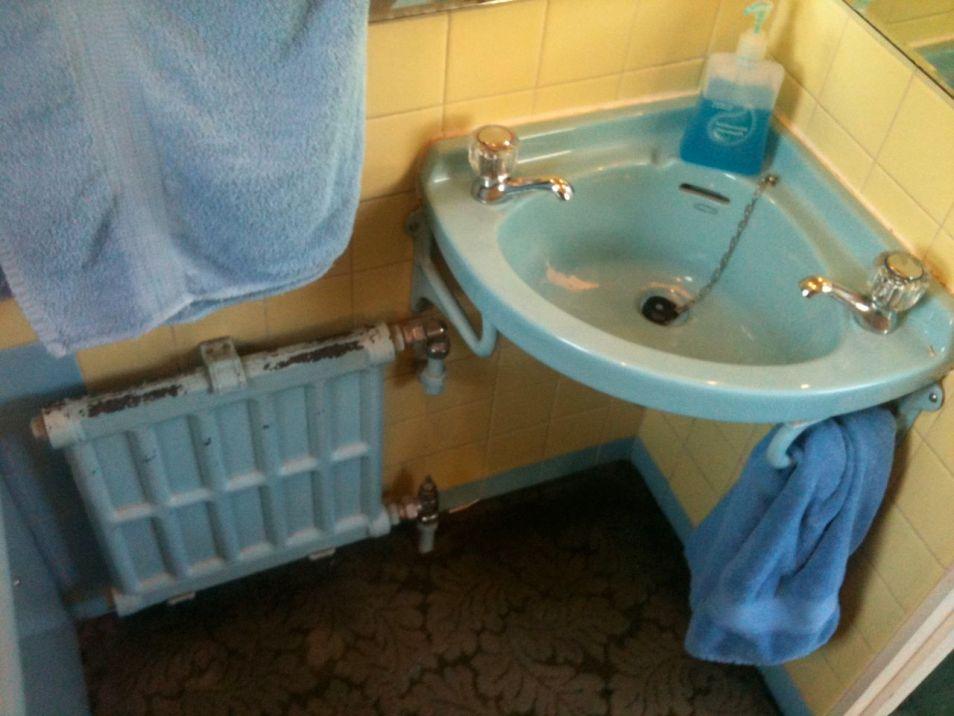 Shower Room Makeover - Eden Road BEFORE 2
