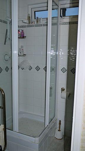 Shower Room Makeover - Rdigemount BEFORE 2