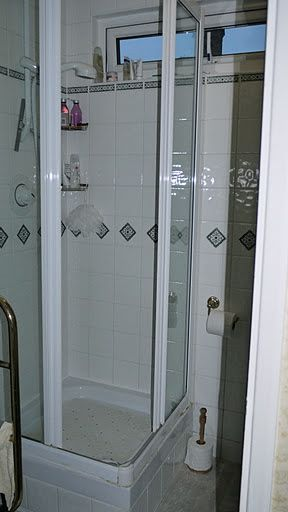 Shower Room Makeover - Rdigemount BEFORE 2