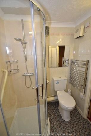 Shower Room Installation - Retirement Flat Emerald Court 2