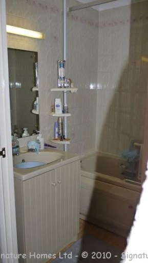 Shower Room Installation - Retirement Flat Emerald Court BEFORE 2