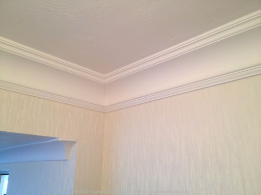 Orac Decor Coving C217 & Wallpapering 2