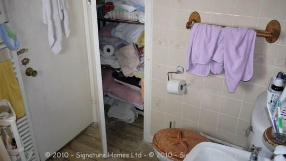 Bathroom Knock Through - Epsom Downs BEFORE 3