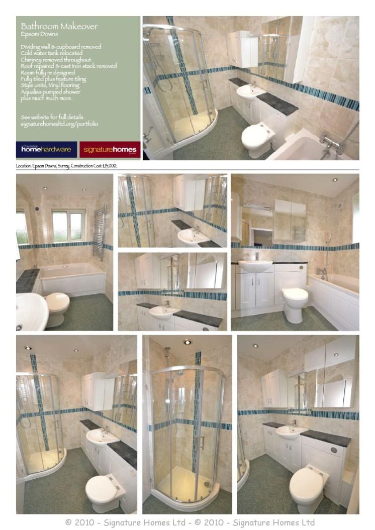 Portfolio Collection - Bathrooms