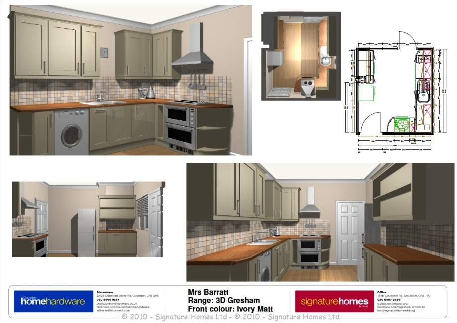 Kitchen Makeover - Marlpit Lane 3D Visuals