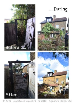 CAT - Green Wrythe Lane (Before & after)