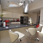 Phoenix Glass Edge Effect Kitchen