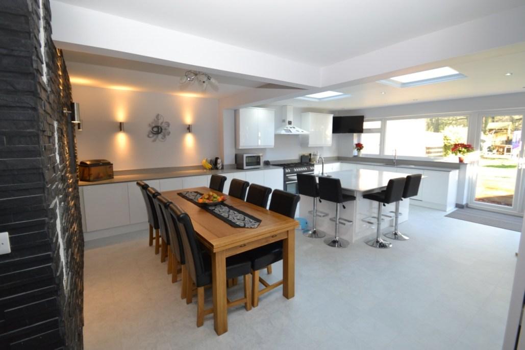 Garage Kitchen Conversion kitchen extension with garage conversion - signature homes ltd