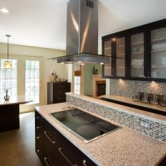 Kitchen Island Counter Ikea Lighting Design In Two Levels Signature Kitchens Additions The Owner Of This Dura Supreme Silver Spring Md We Designed Is An Excellent Cook A Clear Example Most Professional Cooks Attitudes