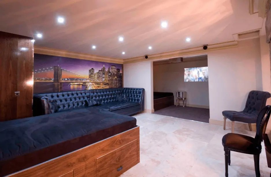 new york loft style living room cafe menu serviced apartments | signature