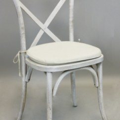 Patio String Chair Deflecto Mats Signature Party Rentals - Vineyard Whitewash