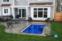 Small Backyard Pool Plunge Design Ideas Landscaping Deck ...