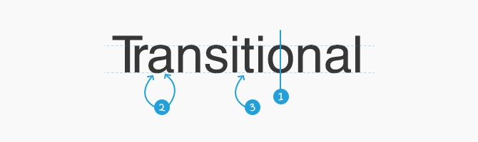 Transitional Features