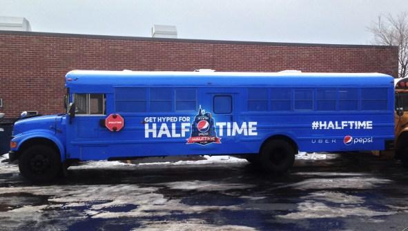 Pepsi Half Time