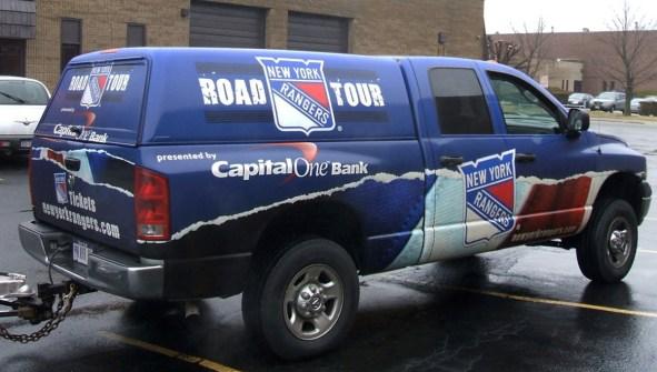 New York Rangers Road Tour
