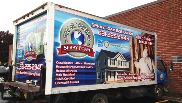Smart Energy Spray Foam