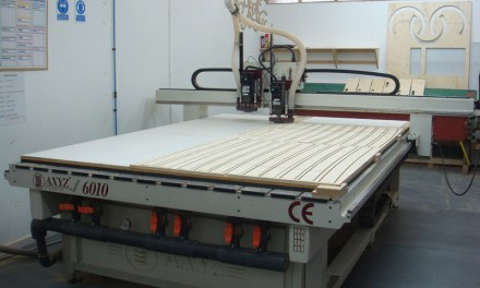 AXYZ router cuts CNC machining costs
