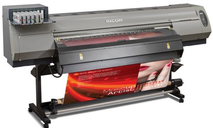 Ricoh makes its debut
