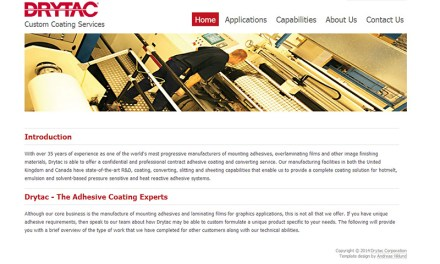 Drytac promotes custom coating