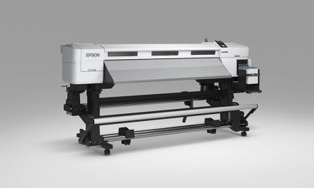 Epson in action at Printwear & Promotion