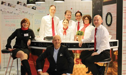 Aslan celebrates 65th anniversary at FESPA 2015