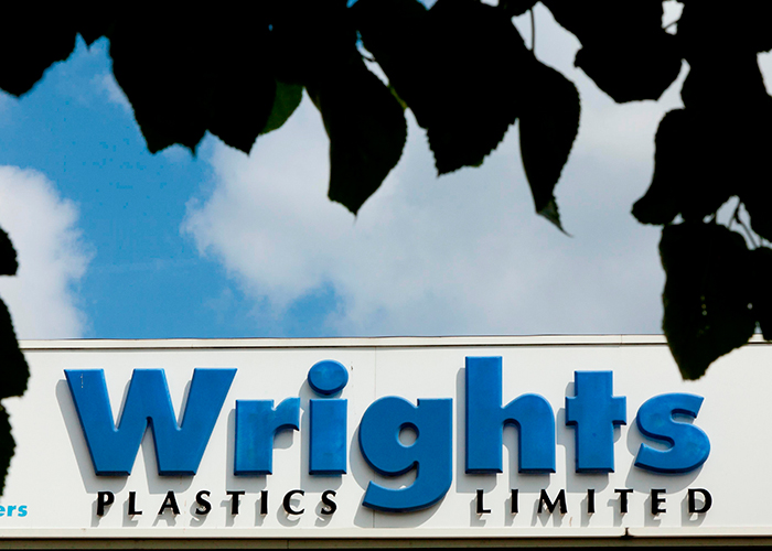 Wrights Plastics is the champion!