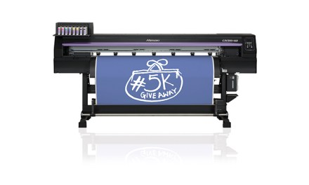 Ramp up print and cut productivity with a Mimaki!