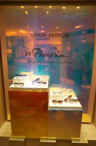 Linda-Farrow-sunglasses-display-in-Selfridges,-London-min
