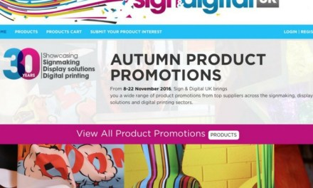 Sign & Digital UK launches online promotion