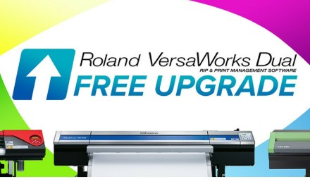 Roland DG offers free VersaWorks Upgrade