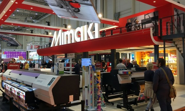 Mimaki enjoys a 'thrilling success' at FESPA 2017
