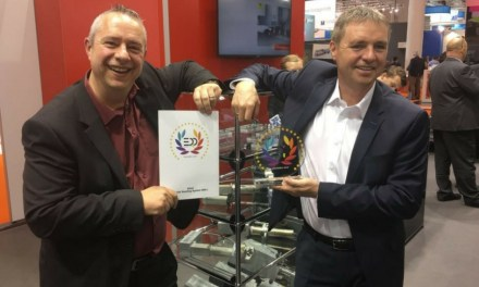 Zünd wins EDP award for its 3.6kW Routing System RM-L