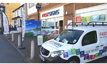 Fastsigns' Kingston centre doubles in size