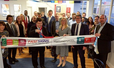 FASTSIGNS Hammersmith is a master of success
