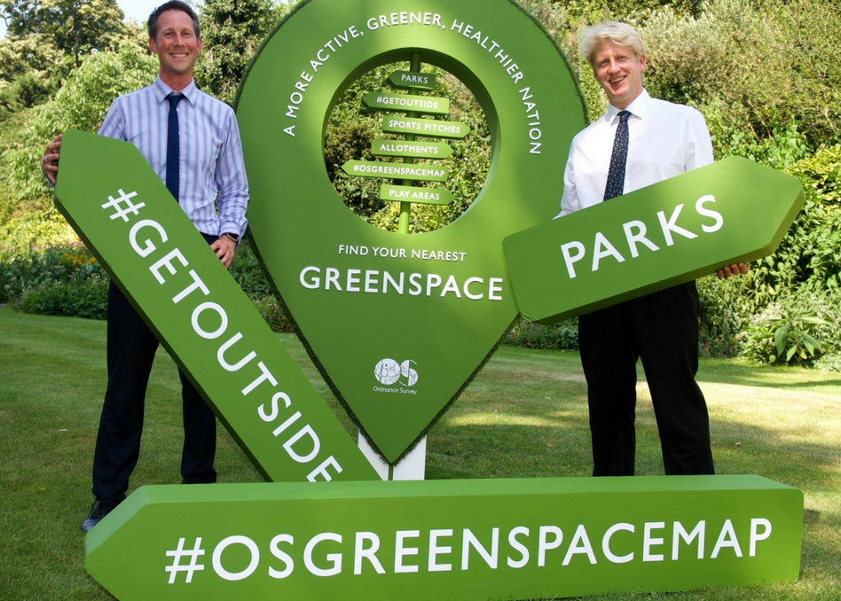 Greenspace Signage with MP Jo Johnson